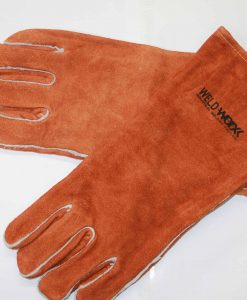 Welders Brown Gloves Split Cowhide
