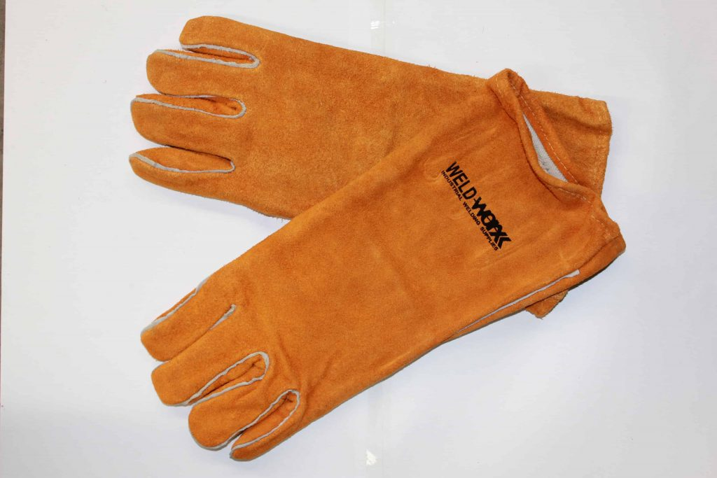 Welders Glove Goldn Leather Deluxe 1
