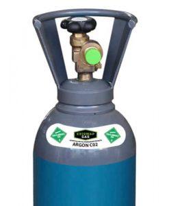 ARGON/C02 GAS CYLINDER